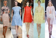 Shop the Spring/Summer 2012 trend: Lace