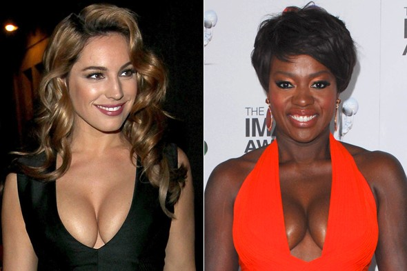 Why have Kelly Brook and Viola Davis taken their breasts hostage?