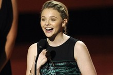 Women in Film Awards: Chloe Moretz is the MaxMara Face of the Future