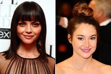 Beauty look of the week: Christina Ricci vs Shailene Woodley