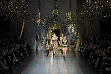 Fantastic theatrics from Dolce & Gabbana in Milan