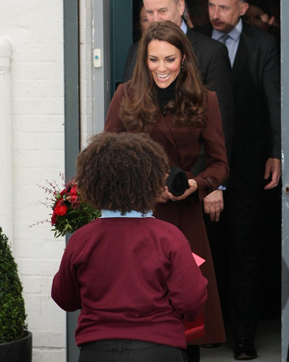Who's Duchess Kate's Valentine? (Clue - it's not Wills)