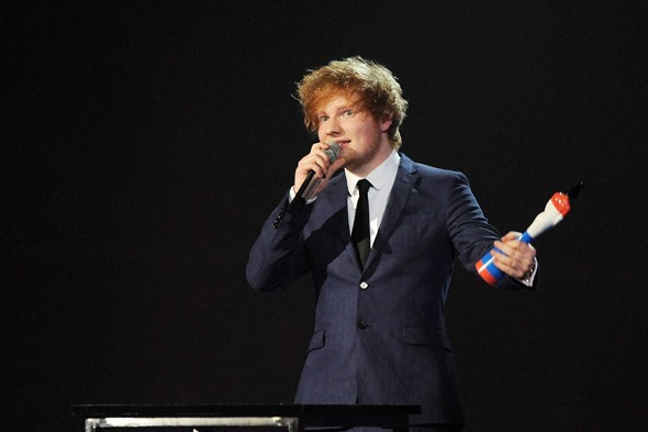 Ed Sheeran wins Best British Male