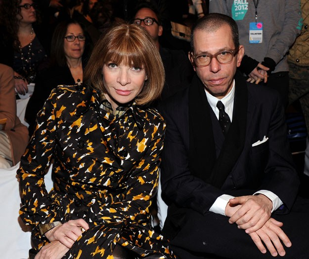 Anna Wintour and Jonathan Newhouse