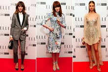 Alexa, Florence and Rosie hit the red carpet for Elle Style Awards 2012