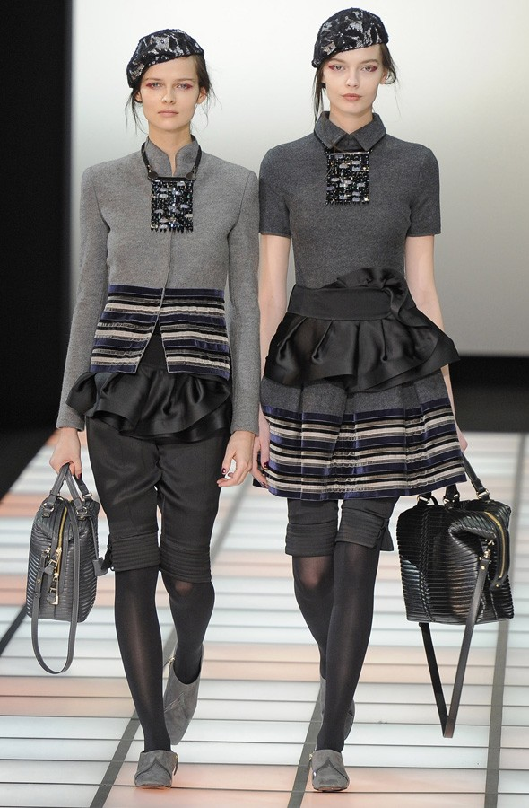 Emporio Armani Autumn/Winter 2012 collection review
