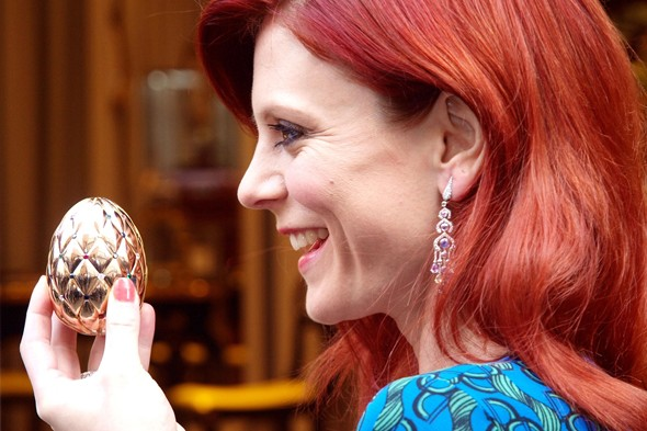 Faberge offers £100,000 prize egg for Big Easter Egg Hunt
