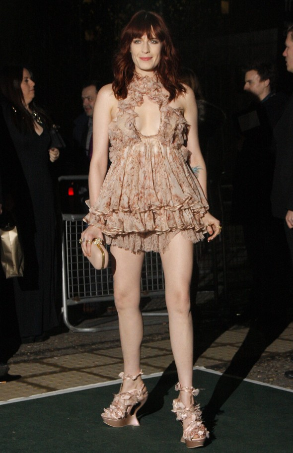 Hands up who wants to see Florence Welch dancing at the Brits?