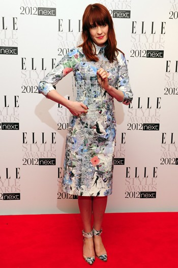 Florence Welch in Erdem