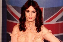 Florence Welch is an early arrival on the Brits red carpet