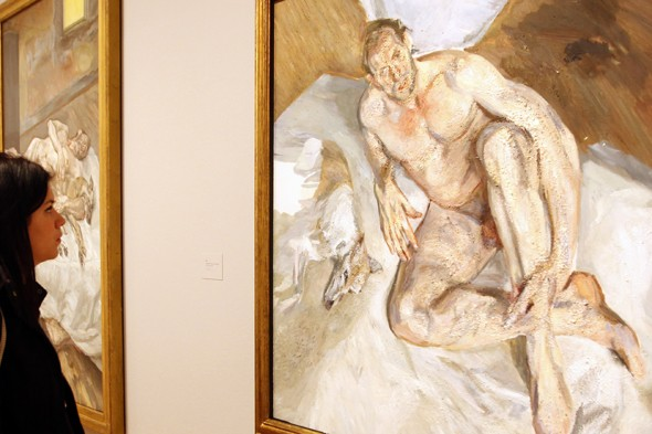 Lucian Freud: Portraits - The National Portrait Gallery
