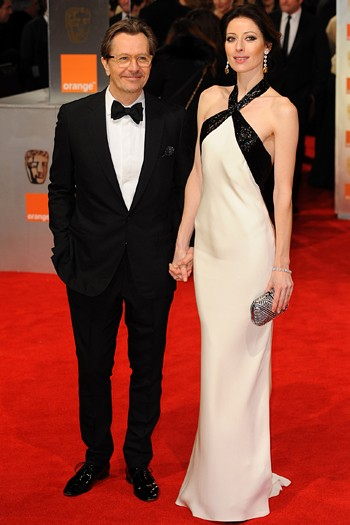 Gary Oldman and his wife Alexandra Edenborough