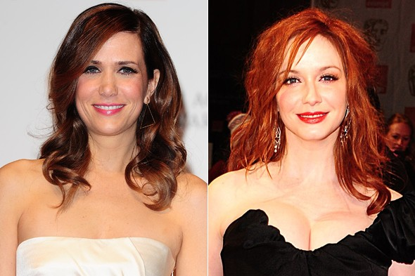 Hot hairstyles from the Baftas 2012 red carpet