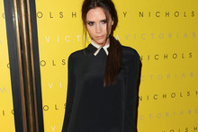 Victoria Beckham pulls out her best poses for Harvey Nichols launch