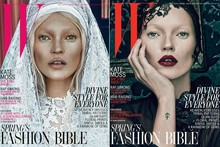 Good Kate/Bad Kate: Ms Moss covers W magazine