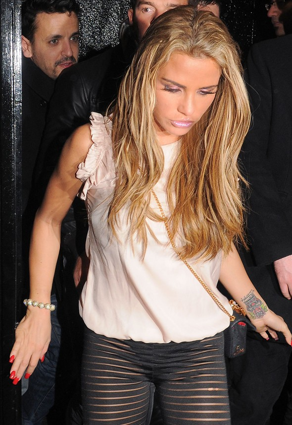 Katie Price adds the final nail to the 'leggings as trousers' coffin