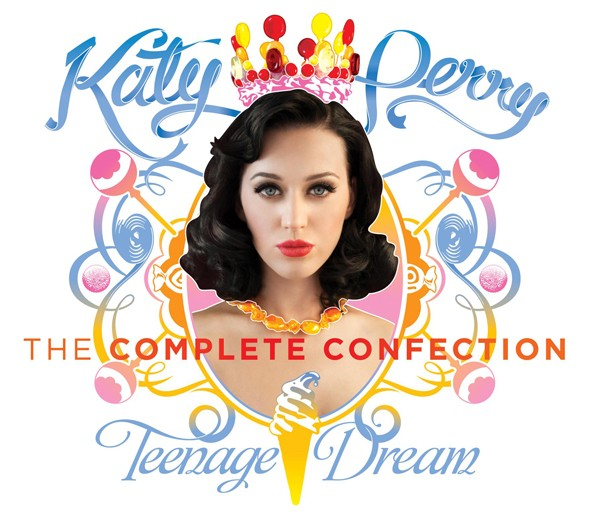 Sugary sweet: Katy Perry's new album cover unveiled