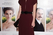 Keira Knightley is beautiful in backless dress at A Dangerous Method premiere