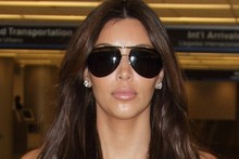 The airport is Kim Kardashian's personal katwalk