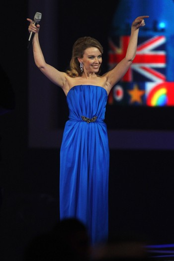 Kylie Minogue presents Best British Solo Artist