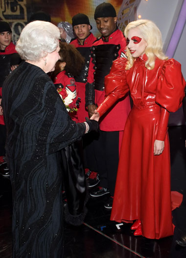 Meeting Queen Elizabeth II, 2009, Blackpool