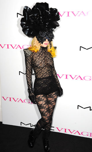 MAC Viva Glam launch, 2010, London