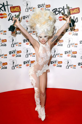 Brit Awards, 2010, London