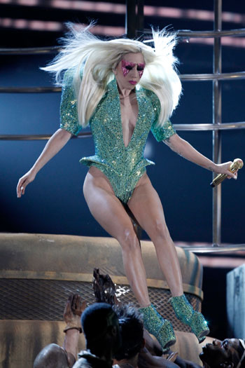 Grammy Awards performance, 2010, L.A.