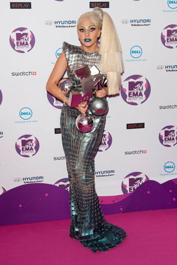 MTV Europe Awards, 2011, Belfast