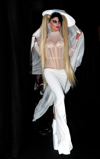 Thierry Mugler fashion show, 2011, Paris