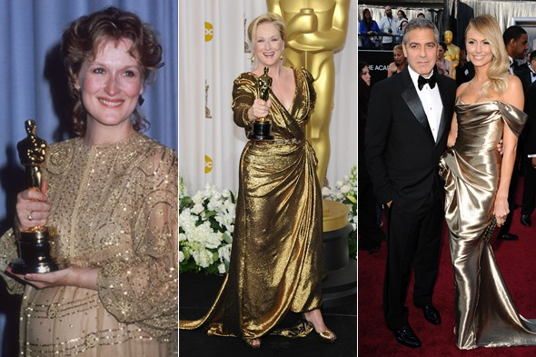 Oscars 2012: Our theory involving George Clooney in a gold dress