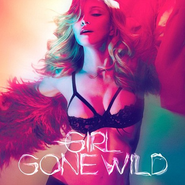 Madonna unveils Girl Gone Wild artwork (or 'Hello Madonna's breasts')