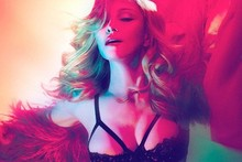 Madonna unveils Girl Gone Wild artwork (or