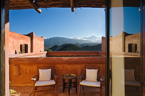 Kasbah Bab Ourika, Atlas Mountains, Morocco