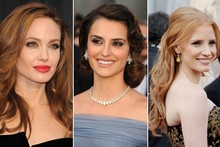 Best of the beauty: Hair and makeup highlights from the Oscars 2012
