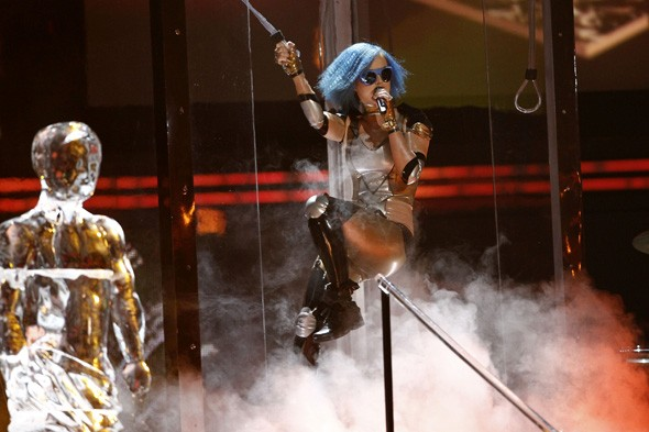 The Grammy Awards 2012: All the onstage action