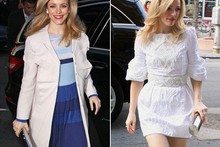 Quick change! Two dresses in one afternoon for Rachel McAdams