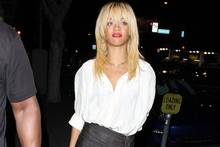 Rihanna attempts conservative style... almost