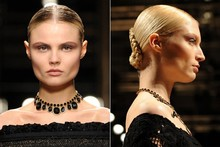 Backstage beauty: Salvatore Ferragamo Autumn/Winter 2012