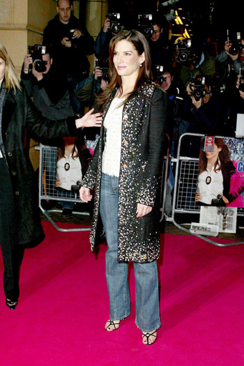 Miss Congeniality II premiere, 2005, London