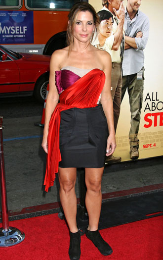 All About Steve world premiere, 2009, Hollywood