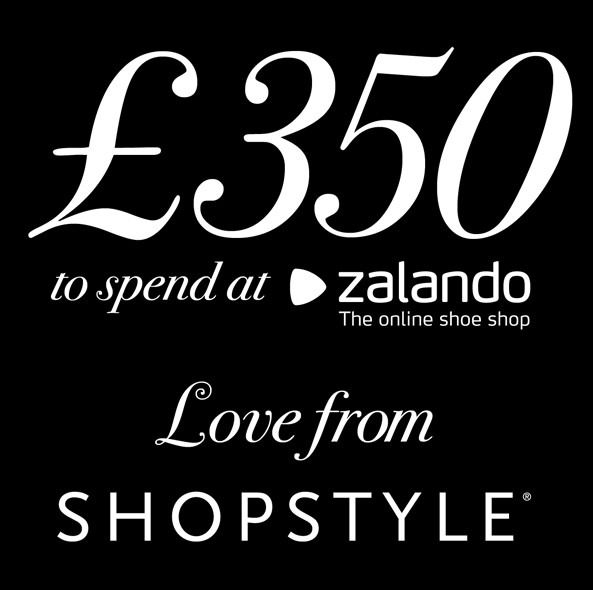 ShopStyle gives a £350 gift card to spend at Zalando.co.uk