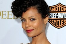 Hot or not: Thandie Newton's hat-like updo
