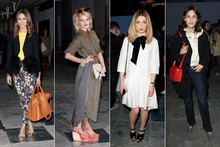 Which celebrity guest looked the best at Topshop Unique?