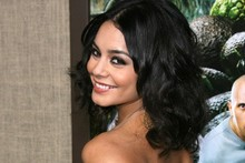 Not so mellow yellow: Vanessa Hudgens steals the show in backless gown