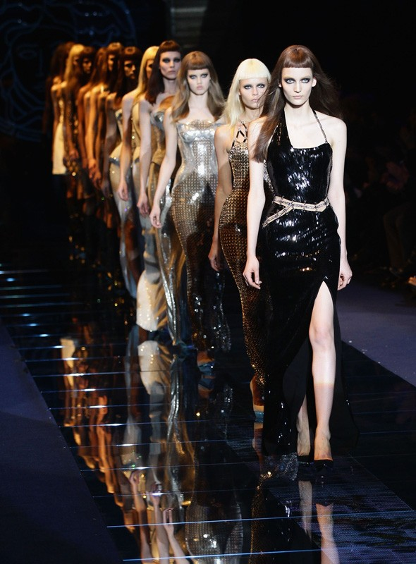 Versace Autumn/Winter 2012 collection: Milan Fashion Week