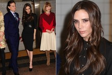 Hot or not: Victoria Beckham's smoky eye makeup