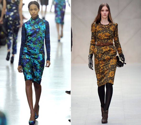 Trend one:  Winter florals