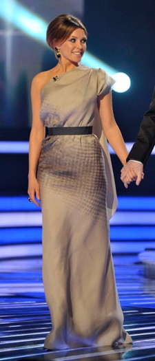 Dannii Minogue on The X Factor, October 2011