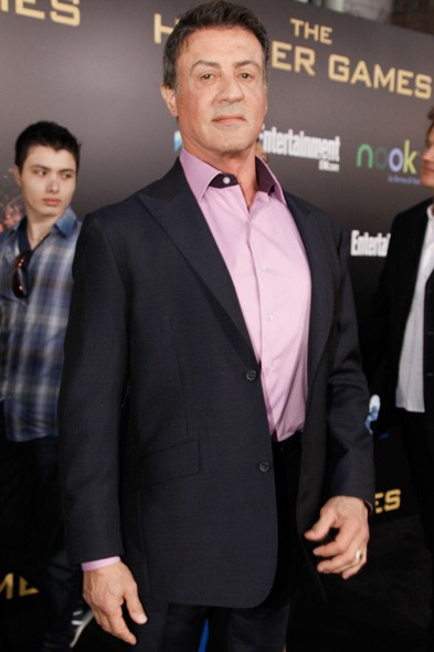 Sylvester Stallone at the LA premiere